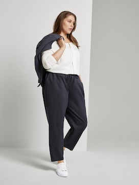 Gevlekte Loose Fit Broek - 3 - Tom Tailor E-Shop Kollektion
