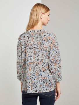 Verspielte Bluse mit Blumenprint - 2 - TOM TAILOR Denim