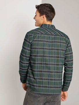 Geruit overhemd met borstzak - 2 - TOM TAILOR