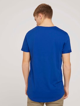 T-shirt with a chest print made with organic cotton  - 2 - TOM TAILOR Denim