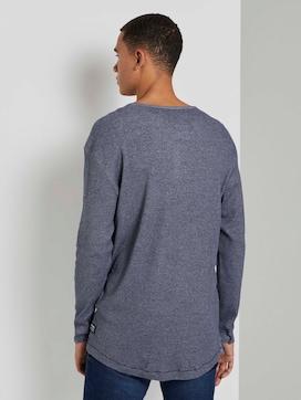 Strukturiertes Henley-Shirt - 2 - TOM TAILOR Denim