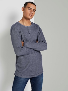 Strukturiertes Henley-Shirt - 5 - TOM TAILOR Denim