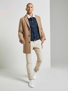 Structured chinos - 3 - TOM TAILOR