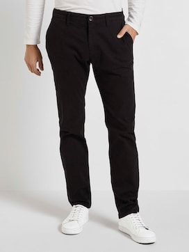 Strukturierte Chino Hose  - 1 - TOM TAILOR