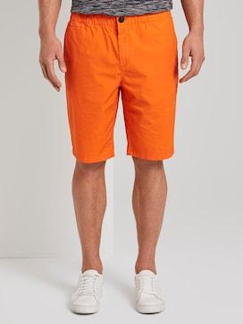 Morris Relaxed Chino-Shorts mit elastischem Bund - 1 - TOM TAILOR