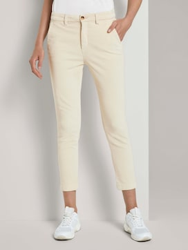 Corduroy cigarette trousers - 1 - TOM TAILOR Denim