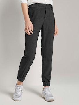 Melange jogger trousers - 1 - TOM TAILOR Denim