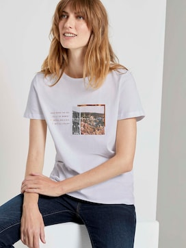 T-Shirt aus Organic Cotton - 5 - TOM TAILOR