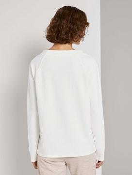 Sweatshirt met raglan mouwen - 2 - TOM TAILOR
