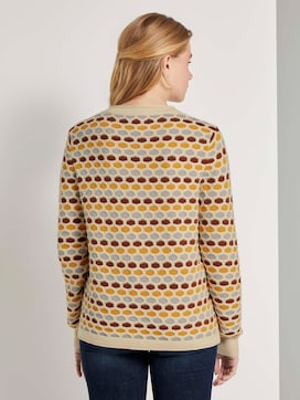 Colourful honeycomb sweater - 2 - TOM TAILOR Denim