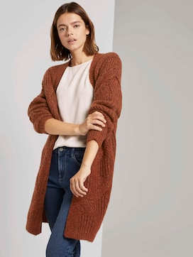 Cardigan im Ajour-Muster - 5 - TOM TAILOR Denim