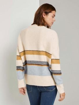 Oversized Pullover mit Streifen - 2 - TOM TAILOR Denim