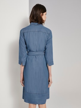 Denim dress in a shirt style - 2 - TOM TAILOR