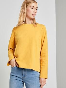 Sweatshirt mit Seitenschlitzen - 5 - TOM TAILOR Denim