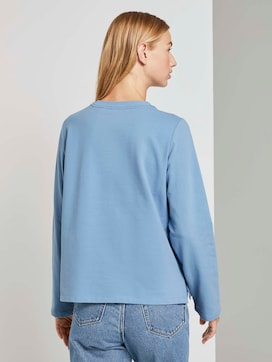Sweatshirt met zijsplitten - 2 - TOM TAILOR Denim