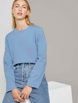 Sweatshirt met zijsplitten - 5 - TOM TAILOR Denim