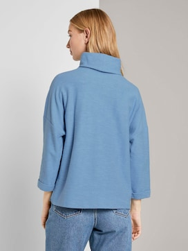 Sweatshirt met coltrui - 2 - TOM TAILOR Denim