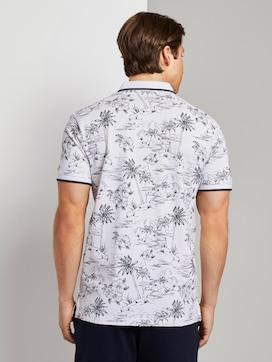 Polo shirt with a tropical Hawaiian print - 2 - TOM TAILOR Denim