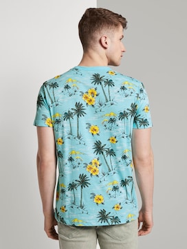 T-Shirt mit tropischem Hawaii-Print - 2 - TOM TAILOR Denim