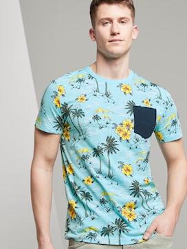 T-Shirt mit tropischem Hawaii-Print - 5 - TOM TAILOR Denim