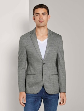 Getextureerde jersey jas - 1 - TOM TAILOR