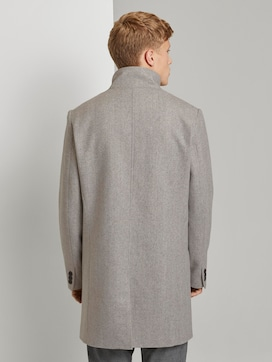 Asymmetric coat with a stand-up collar - 2 - TOM TAILOR Denim