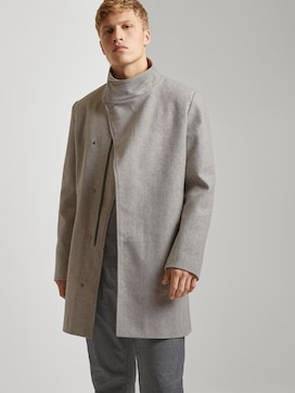 Asymmetric coat with a stand-up collar - 5 - TOM TAILOR Denim