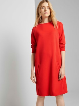 Comfortable dress with a stand-up collar - 5 - TOM TAILOR