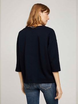 Basic Loose Fit Sweatshirt - 2 - TOM TAILOR