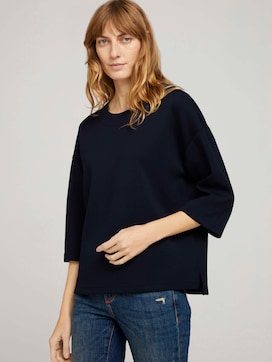 Basic Loose Fit Sweatshirt - 5 - TOM TAILOR