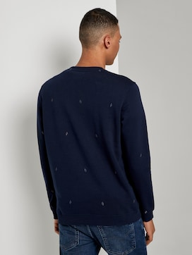 Besticktes Sweatshirt - 2 - TOM TAILOR Denim
