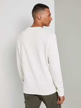 Embroidered sweatshirt - 2 - TOM TAILOR Denim