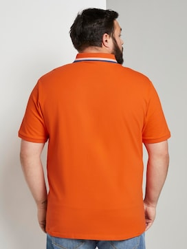 Polo shirt with a chest pocket - 2 - Men Plus