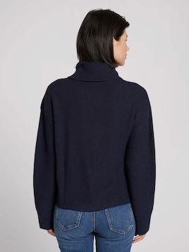 Pullover mit weitem Rollkragen - 2 - TOM TAILOR