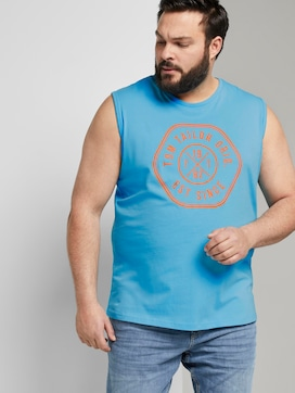 Tanktop mit Logo-Print - 5 - Men Plus