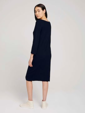 Knitted ottoman dress - 2 - TOM TAILOR