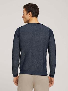 Pullover mit Rippbündchen - 2 - TOM TAILOR