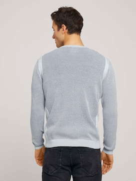 structured sweater - 2 - TOM TAILOR