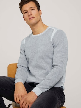 structured sweater - 5 - TOM TAILOR