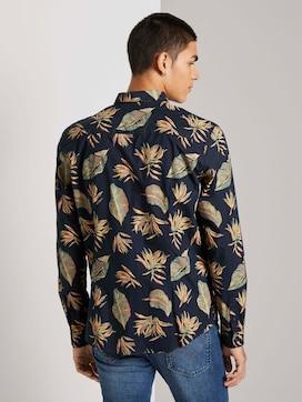 Patterned slim fit shirt - 2 - TOM TAILOR Denim
