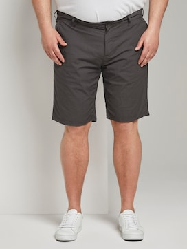 Patterned Josh regular slim Bermuda shorts - 1 - Men Plus