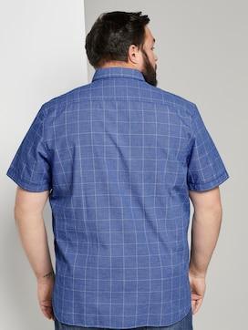 Geruite shirt met korte mouwen - 2 - Men Plus