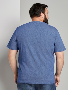 T-shirt with a textured print - 2 - Tom Tailor E-Shop Kollektion