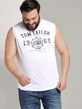 Tanktop mit Logo-Print - 5 - Tom Tailor E-Shop Kollektion