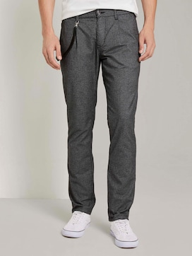 Chino mit feinem Muster - 1 - TOM TAILOR Denim