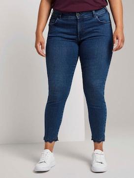 Skinny Jeans met Kant Detail - 1 - My True Me
