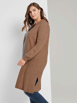 Long cardigan with raglan sleeves - 5 - Tom Tailor E-Shop Kollektion