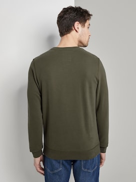 Sweatshirt with a letter print - 2 - TOM TAILOR