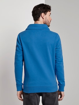 Sweatshirt met opstaande kraag en print - 2 - TOM TAILOR