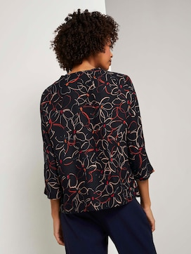 Fledermaus-Bluse mit Blumenprint - 2 - Tom Tailor E-Shop Kollektion